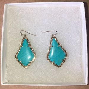 turquoise kendra earrings